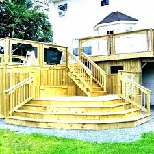 outdoor wood steps how to install wood steps outdoor wood steps for slippery cost to outdoor wood