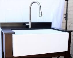 alfi farmhouse sink a guide on alfi brand ab510 single bowl smooth panel fireclay farmhouse