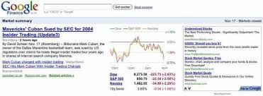 Google Puts Ads On Google Finance Business Insider Gorgeous Google Finance Stock Quotes