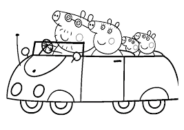 Small Picture Peppa Pig Coloring Pages and Sheets