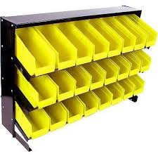 plastic rack wall mounted 24 bin 3