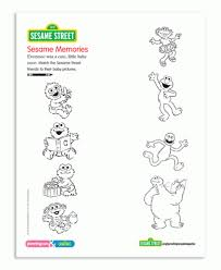 Sesame Street March 2011 Coloring Pages Parenting