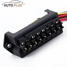 aliexpress com buy 8 way dc32v fuse holder circuit car trailer aliexpress com buy 8 way dc32v fuse holder circuit car trailer auto blade fuse box block holder atc ato 2 input 8 ouput wire from reliable wire ideas