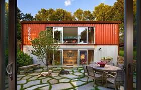 Beautiful Two Story Container Home Embraces its Looks
