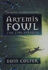 image of the time paradox artemis fowl book 6
