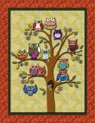 Life's a Hoot! Owl Quilt | Owl quilts, Owl and Patterns & Owl Quilt Pattern | ... you, this is what the original design looks Adamdwight.com