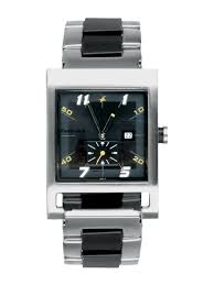 buy fastrack men black dial watch 1478sm01 watches for men myntra