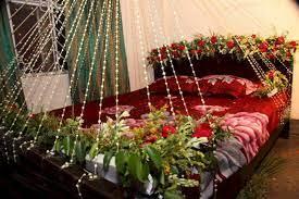 wedding night bedroom decorations ideas