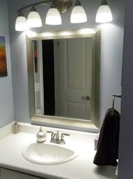 cool lowes bath lighting battery operated vanity lights mirror and wall ls and blue wall black towel and picture sink and faucet and soap and door
