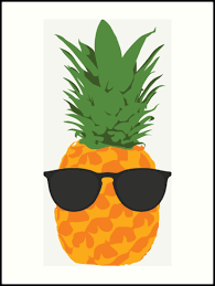 pineapple with sunglasses clipart. cool pineapple with sunglasses by simplecomplex clipart o