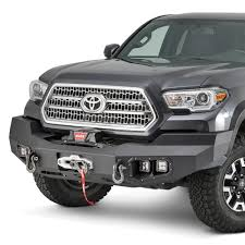 Warn® - Toyota Tacoma 2016-2018 Ascent Full Width Black Front ...