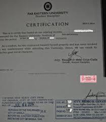 Certificate Good Conduct Certificate Template