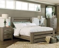 rustic gray bedroom set. Interesting Set Juararo Bedroom Furniture  Zelen Rustic Grey Bed With Gray Bedroom Set