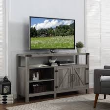 G The Gray Barn Kujawa 58inch Barndoor TV Stand Media Console
