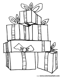 Line Art Stack Of Gifts Google