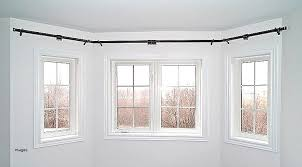 bay window rods with curtain pole rod mega pingcenter