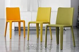 creative of yellow leather dining chairs my time designer italian leather dining chair bonaldo made in