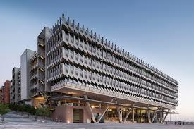 office facade. office building facade google f