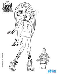 Small Picture Coloring Pages Printable Monster High Coloring Pages Coloring