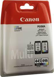 Комплект <b>картриджей Canon PG</b>-<b>445</b>/<b>CL</b>-<b>446</b> (8283B004), черный ...