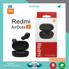 Tai nghe Xiaomi Redmi Airdots 2 TWS 5.0 chống ồn tự động kết nối không dây  chính hãng