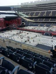 One Direction Chicago Seating Chart Soldier Field Section 336 Row 6 Seat 11 12 Home Of