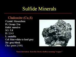 Sulfide Minerals Crystallography Mineralogy Lecture 9 Sulfides Youtube