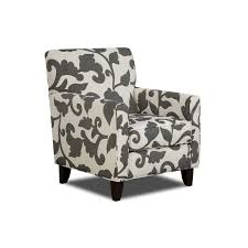 gray and white accent chair. Simple Chair Grey And White Accent Chair Valentina Designer Fabric To Gray I