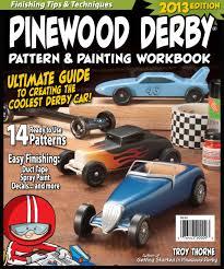 Free Easy Pinewood Derby Designs Pinewood Derby Pattern Painting Workbook Troy Thorne