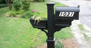 Decorative Mail Boxes Decorative Mailbox Mail Posts Installation 18