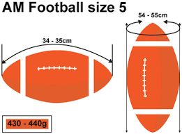 Customized American Football Printed Conveniently Delivered