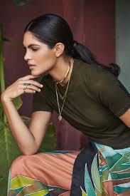 ALICIA RUELAS FOR AZURINE® // THEAZURINE.com | Model, Sari, Saree