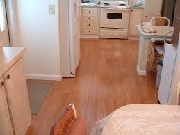 after installation of vanier laminate flooring in kitchen