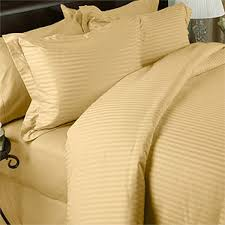 details about 1000 thread count tc 100 egyptian cotton duvet set king cal king gold stripe