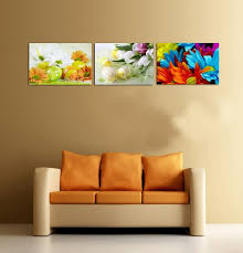 wall hangings for office. Modern Colorful Wall Hangings Refreshing Flowers Anad Fruits Canvas Printing Mural Art For Living Room Office