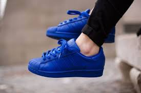 adidas shoes superstar blue. adidas originals superstar supercolor by pharrell williams (bold blue) | pinterest williams, and bald hairstyles shoes blue