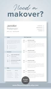 One Page Resume Template Rachelle Smith Supply Chain Manager Guide