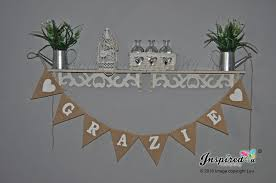 grazie wedding party hessian bunting thank you inspired4u Wedding Thank You Bunting Uk picture of grazie wedding party hessian bunting thank you Succulent Thank You Bunting