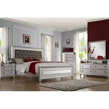 Mirrored Bedroom Dresser Carousel Bedroom Bed Dresser Mirror King 59165 Bedroom