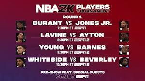 NBA 2K20 Players Tournament starts ...