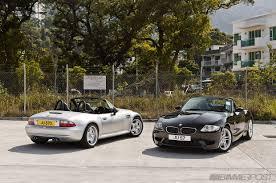 BMW 3 Series bmw z4 matte : BMW M Roadsters: Z4 vs Z3 Photoshoot