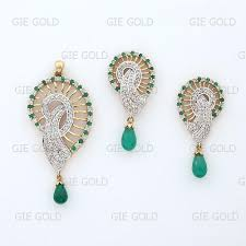 diamond pendant sets classic diamond