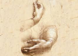 study of hands by leonardo da vinci circa 1474