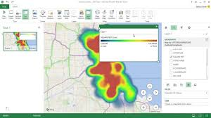 heatmap in excel creating heat maps with excel chicago data portal tutorial youtube