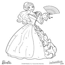 Barbie Coloriage Princesse Coloriage L L L L L L L L L Avec