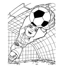 Sport Voetbal Kleurplaten Leuk Voork Kids