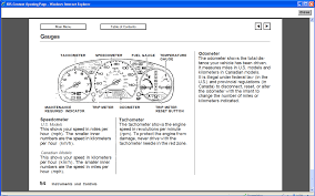 Honda Accord Emissions Indicator Light Has Malfunction The Charging System Indicator Check