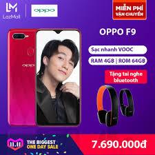 OPPO F9 - Hãng phân phối chính thức - Tặng tai nghe bluetooth giá rẻ  7.690.000₫