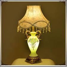 Guo Stil Retro Schlafzimmer Spitze Tischlampe Nordic Antique