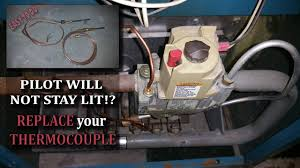 Boiler Light Boiler Pilot Wont Light Replacing The Thermocouple If The Pilot Won T Stay Lit